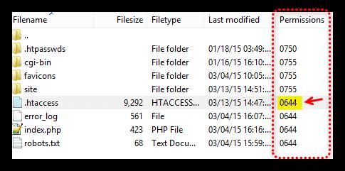 File Permission Level