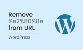 How to remove %e2%80%8e from URL