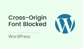 Font Blocked due to Cross-Origin Resource Sharing policy: No 'Access-Control-Allow-Origin'