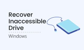 Recover inaccessible Drive or External Hard Drive