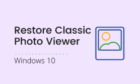 Read more about the article How to bring back Windows Photo Viewer in Windows 10