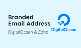 DigitalOcean Email Forwarding & Self Branded Inbox with Zoho