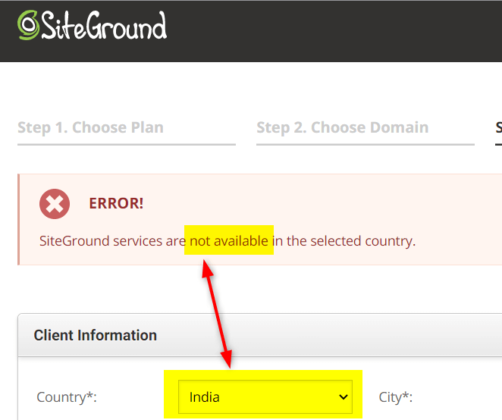 Siteground India