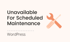 Briefly unavailable for scheduled maintenance. Check back in a minute. error in WordPress