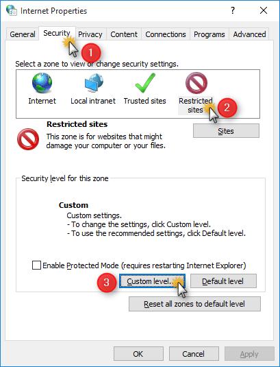 Internet-Options
