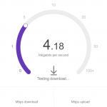How to speed test without Ads