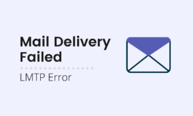 LMTP error: Mail Delivery System failed