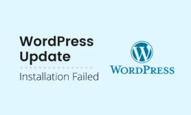 Installation Failed while Updating WordPress